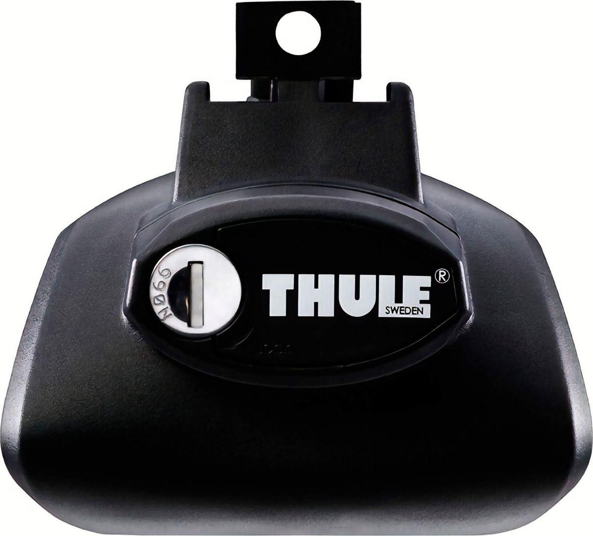 Упоры Thule Rapid Railing, для автомобилей с продольными дугами. 757 комплект багажника thule wingbar edge для автомобилей с продольными рейлингами цвет черный 958420
