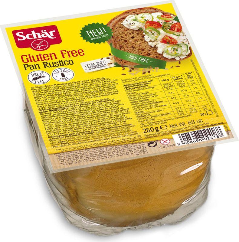 Хлеб злаковый Dr. Schar Pan Rustico, 250 г dr schar fette croccanti хлебцы 150 г