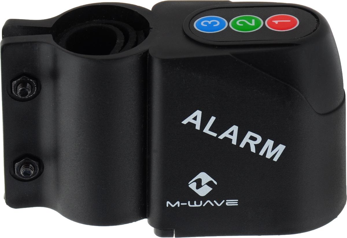 Велосигнализация, крепление за подседельный штырь, датчик движения, регулируемая чувствительность, 120db, в комплекте с батарейками, индивидуальная упаковка