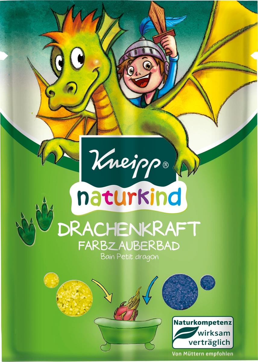 Kneipp Соль для ванны Сила дракона, 40 г кнайпп kneipp масло для ванн целительное 100мл