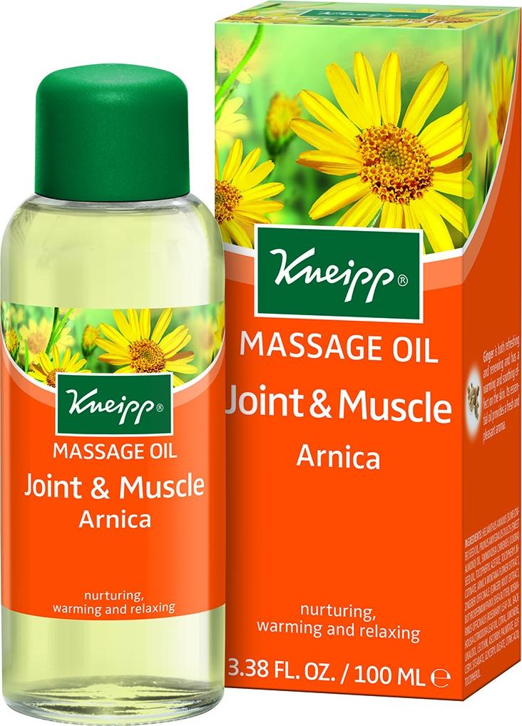 Kneipp Масло для тела с Арникой разогревающее для массажа кнайпп kneipp масло для ванн целительное 100мл