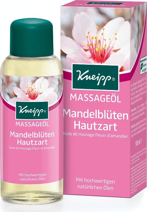 Kneipp Масло для тела с Миндалем массажное, 100 мл lycon масло для ванны и массажа с клубникой миндалем и витамином е 250 мл