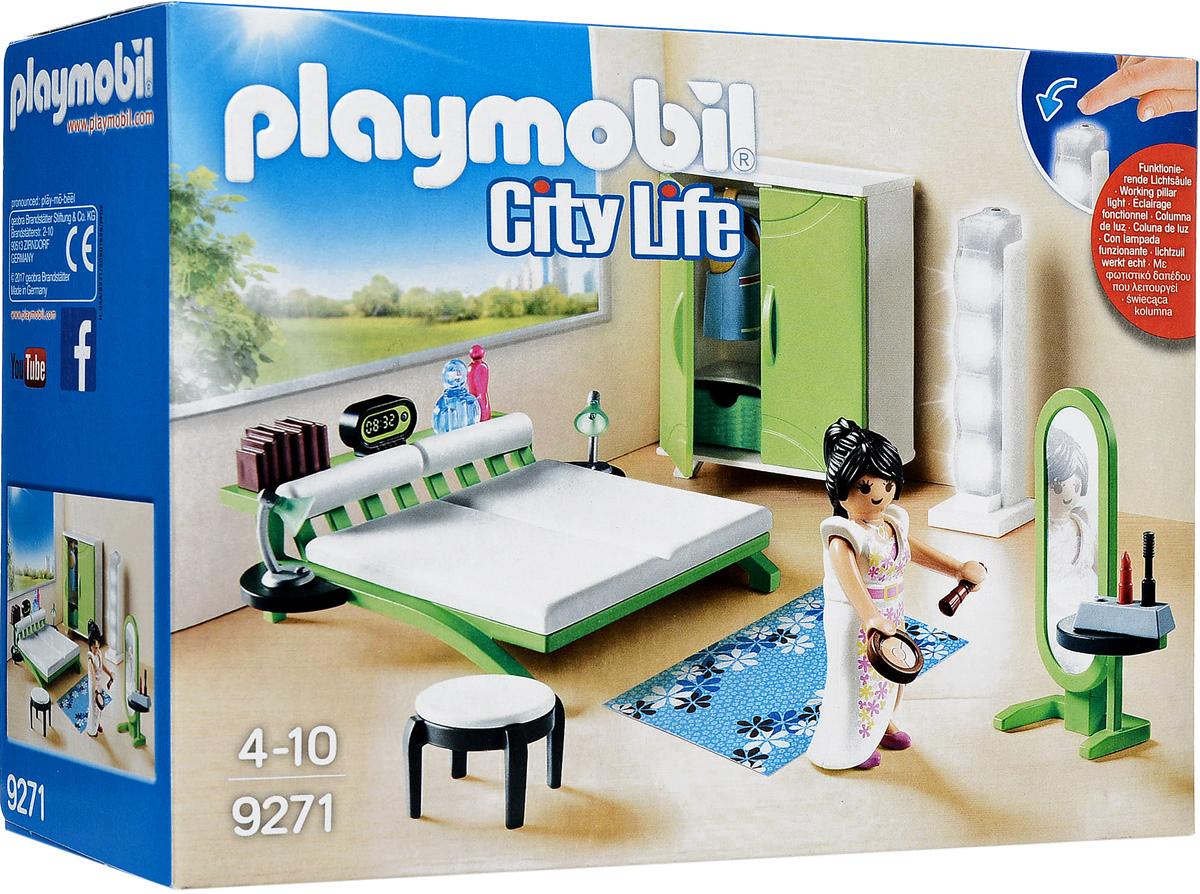 Фото - Playmobil Игровой набор Кукольный дом Спальня playmobil кукольный дом детская комната с люлькой 5304