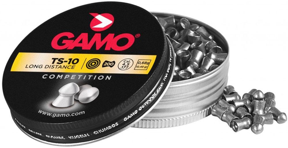 Пули пневматические Gamo TS-10, 4,5 мм, 200 шт gamo tc 10 200