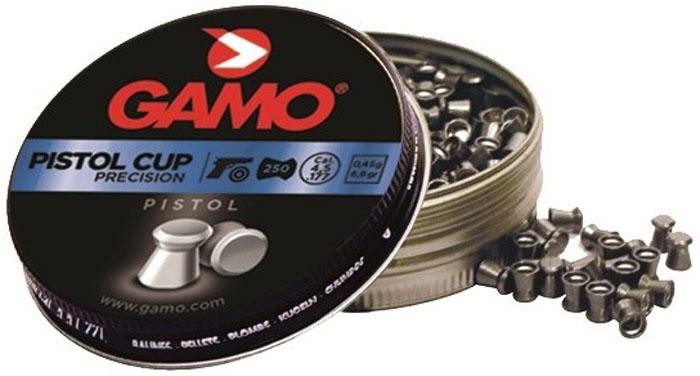 Пули пневматические Gamo Pistol Cup, 4,5 мм, 250 шт оптика gamo