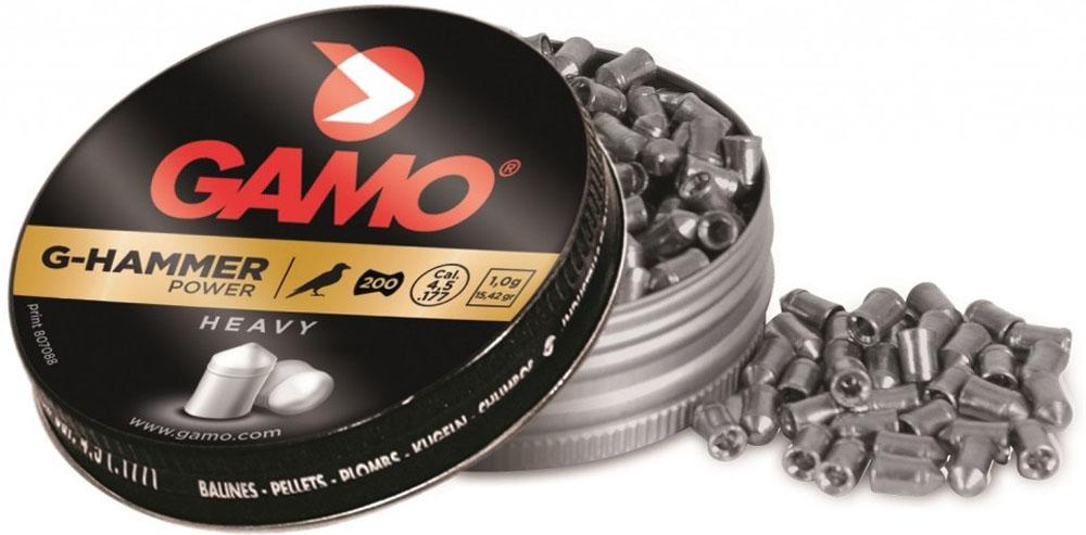 Пули пневматические Gamo G-Hammer, 4,5 мм, 200 шт gamo tc 10 200