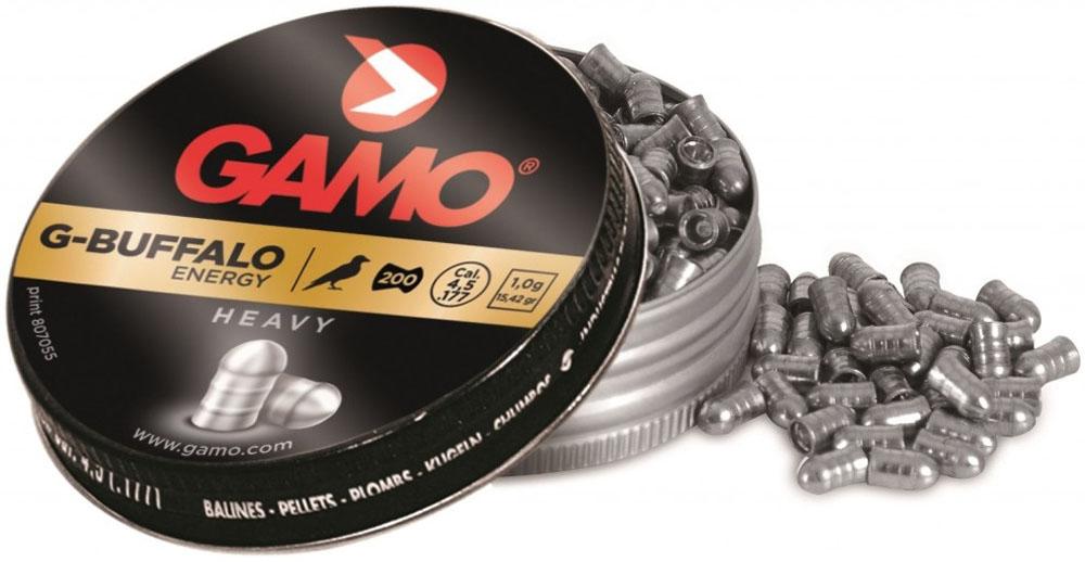Пули пневматические Gamo G-Buffalo, 4,5 мм, 200 шт gamo tc 10 200