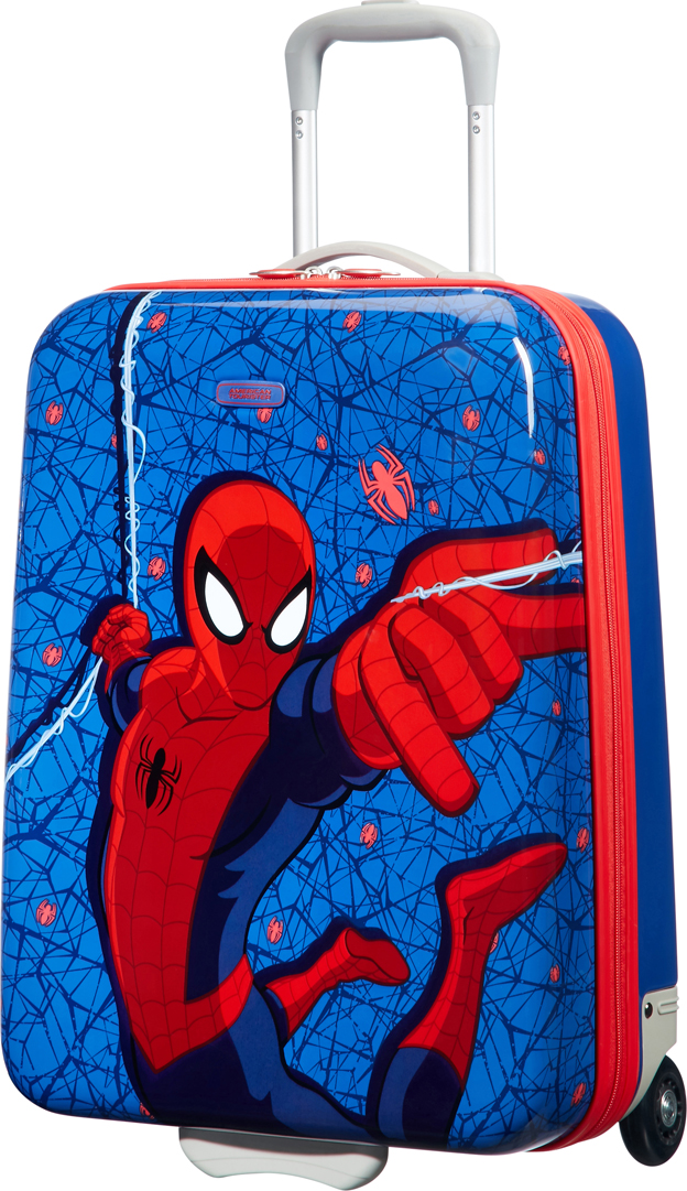 Фото - Чемодан двуххколесный American Tourister Marvel. Человек-паук, 32,5 л академия групп чемодан на роликах человек паук