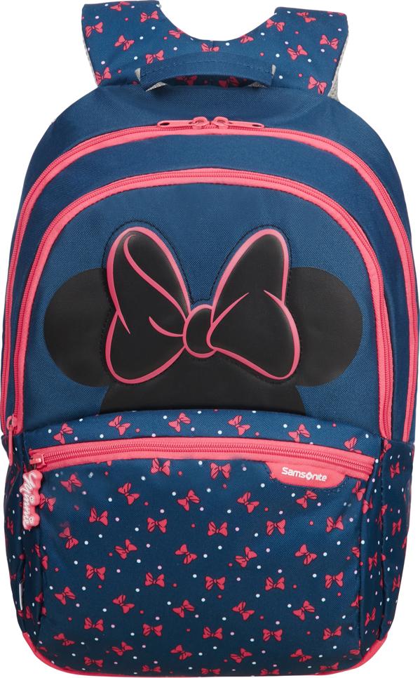 Рюкзак городской Samsonite Disney. Минни неон, 18,5 л samsonite рюкзак m disney ultimate 2 0 28x42x17 см