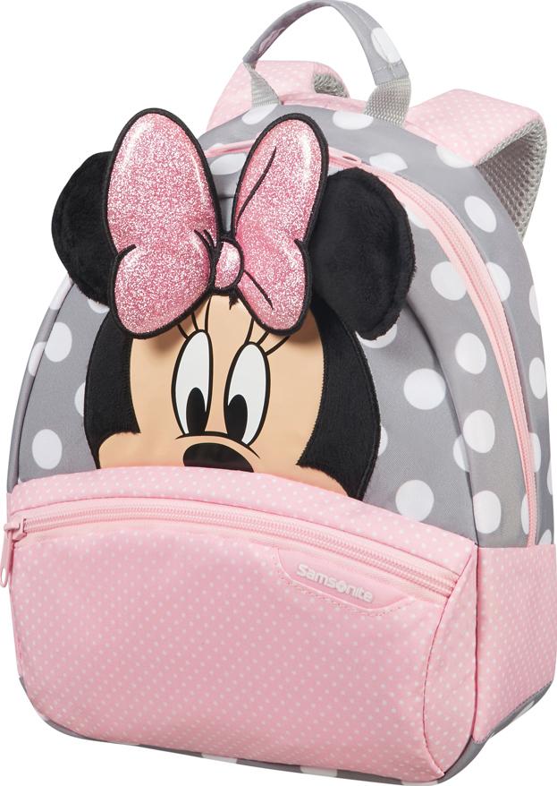 Рюкзак городской Samsonite Disney. Минни глиттер, 7 л samsonite рюкзак m disney ultimate 2 0 28x42x17 см