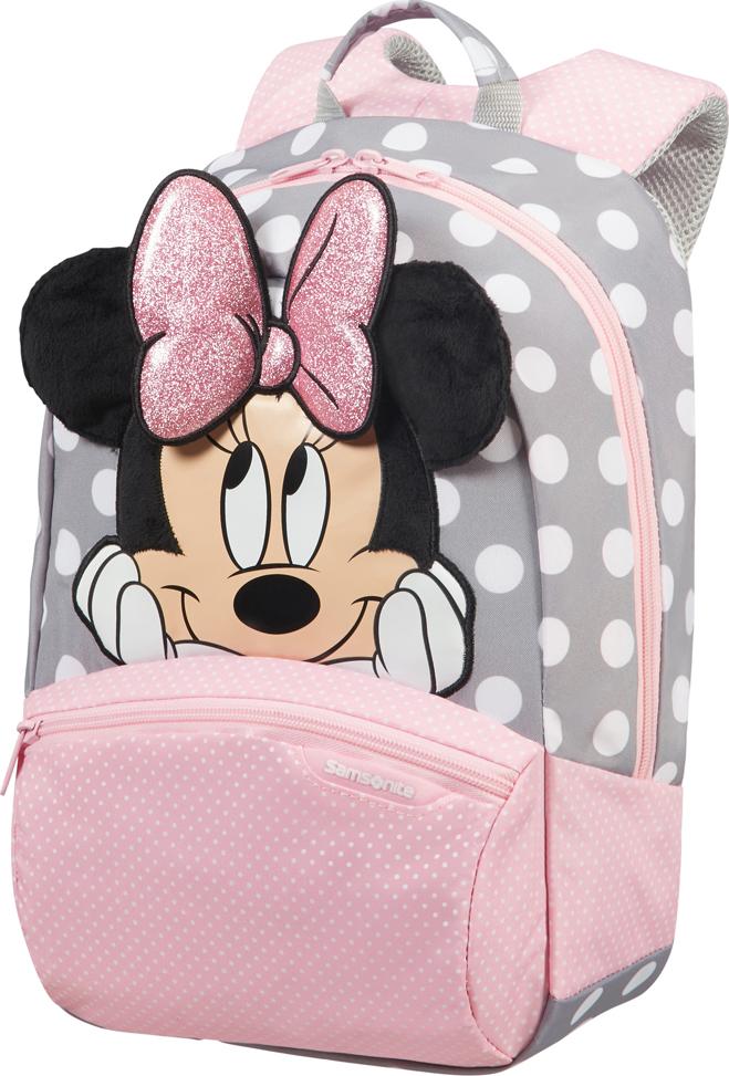 Рюкзак городской Samsonite Disney. Минни глиттер, 11,5 л samsonite рюкзак m disney ultimate 2 0 28x42x17 см
