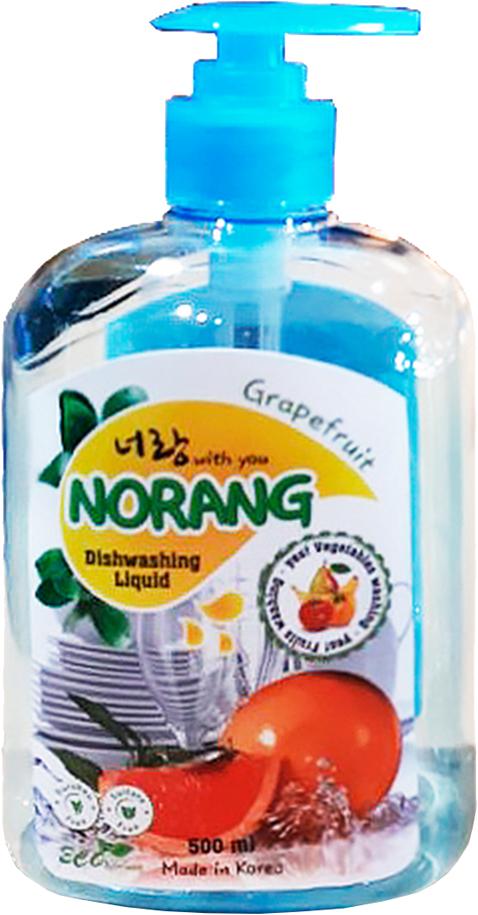 Фото - Жидкость для мытья посуды Norang Dishwashing Liquid Grapefruit, 500 мл рисовый уксус pearl river bridge белый 500 мл