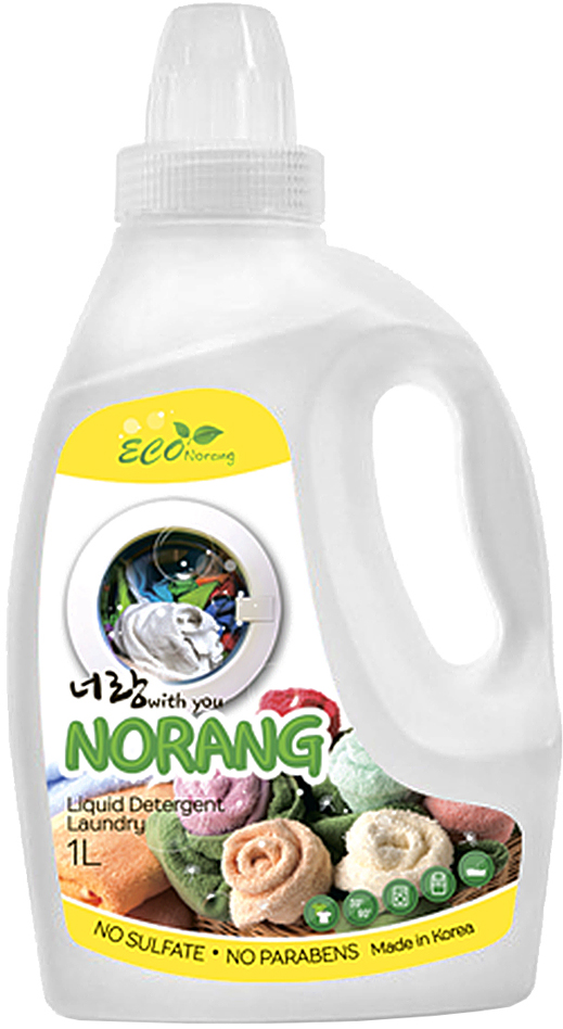 Жидкий стиральный порошок Norang Laundry Detergent, 1 л 1pcs блеск и пудре порошок блестит классика высокое качество повседневные дизайн ногтей