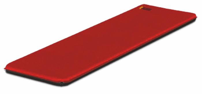 """Коврик самонадувающийся Talberg """"Camping Mat"""", цвет: красный, черный, 198 х 70 см"""