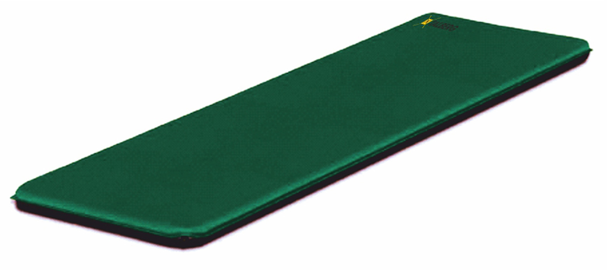 Коврик самонадувающийся Talberg Classic Mat, цвет: зеленый, черный, 183 х 63 см коврик самонадувающийся outwell dreamcatcher single 195 х 63 х 5 см