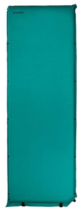 Коврик самонадувающийся Talberg Comfort Mat, цвет: зеленый, черный, 188 х 66 см коврик самонадувающийся outwell dreamcatcher single 195 х 63 х 5 см