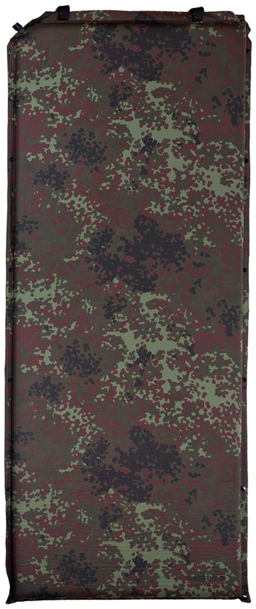 Коврик самонадувающийся Talberg Forest Comfort Mat, цвет: зеленый, коричневый, черный, 188 х 66 см