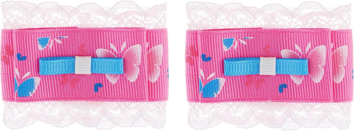 Бант для волос Baby's Joy. MN 131/2 цвет: розовый,голубой цена