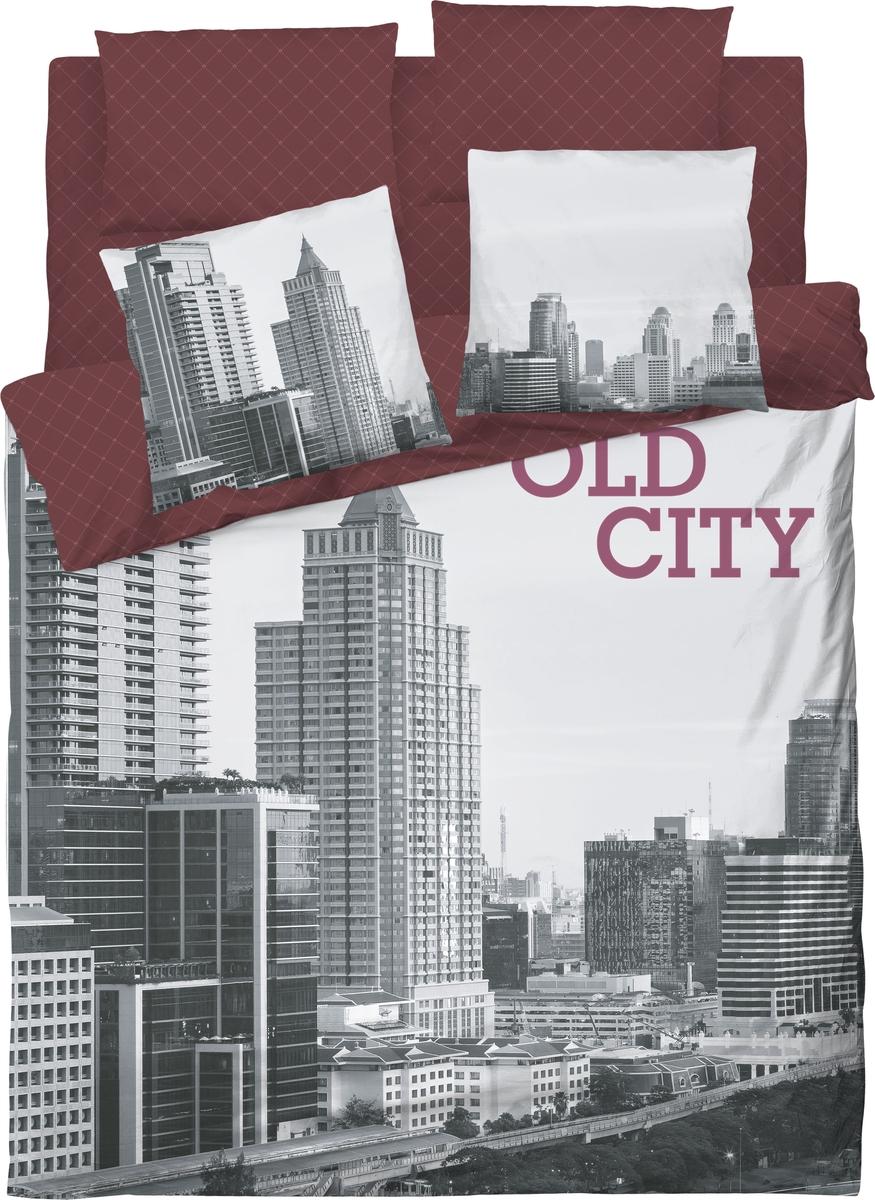 цена на Комплект белья Волшебная ночь Old City, евро, наволочки 70x70. 702191