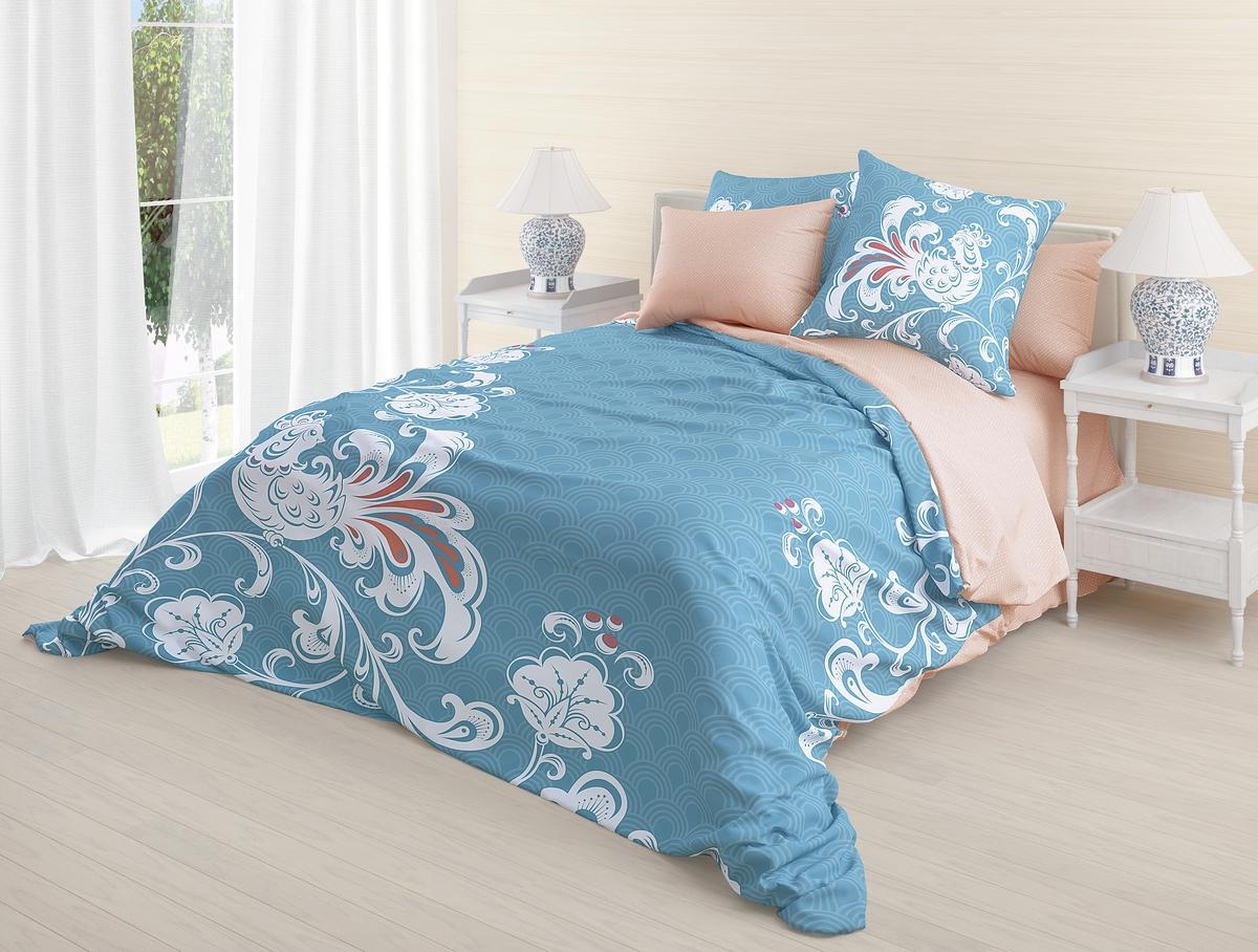 Комплект белья Волшебная ночь Divo, 2-спальный, наволочки 70x70. 718563 постельное белье волшебная ночь алярус biruza комплект 2 спальный ранфорс 718651