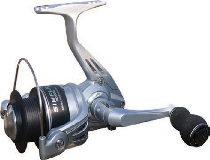 Катушка рыболовная SWD Simple 4000FA, 4BB. 49467