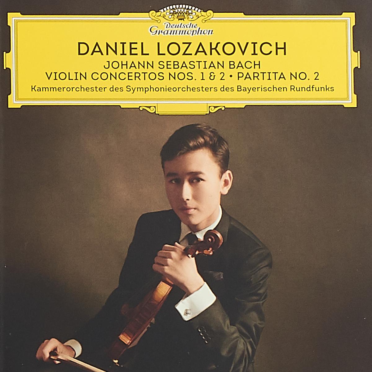 лучшая цена Daniel Lozakovich Lozakovich Daniel, Bach. Violin Concertos Nos. 1 & 2. Partita No. 2