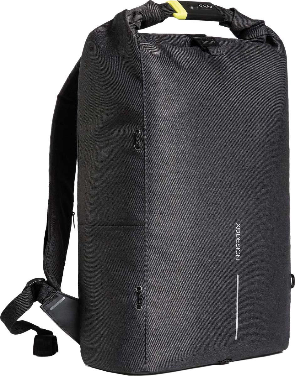 Рюкзак для ноутбука XD Design Bobby Urban Lite, до 15,6, черный рюкзак для ноутбука xd design bobby до 15 6 цвет черный с серой подкладкой 13 л