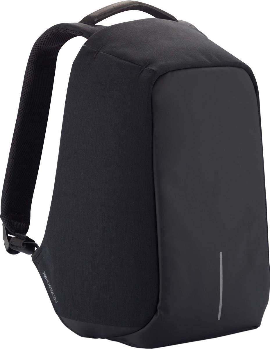 Рюкзак для ноутбука XD Design Bobby XL, до 17, черный рюкзак для ноутбука xd design bobby до 15 6 цвет черный с серой подкладкой 13 л