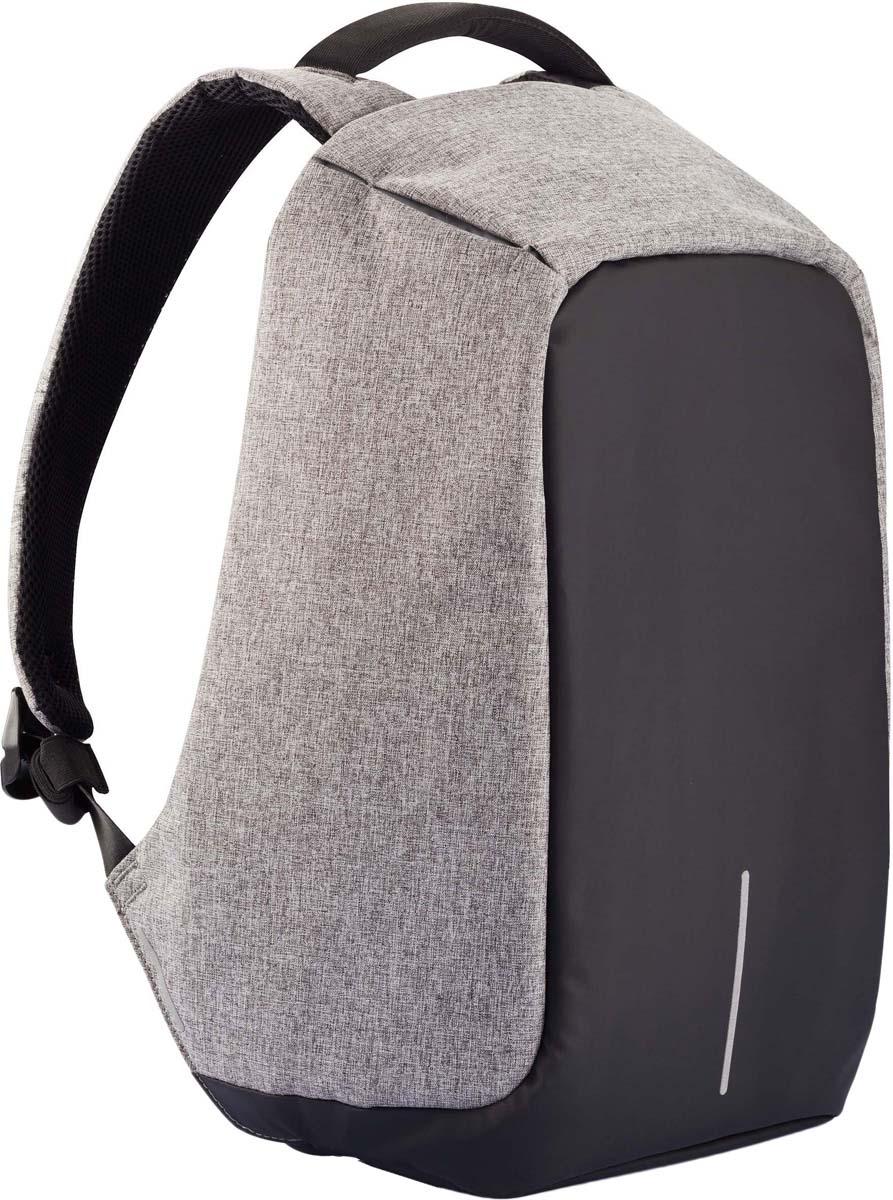 Рюкзак для ноутбука XD Design Bobby XL, до 17, серый рюкзак для ноутбука xd design bobby до 15 6 цвет черный с серой подкладкой 13 л