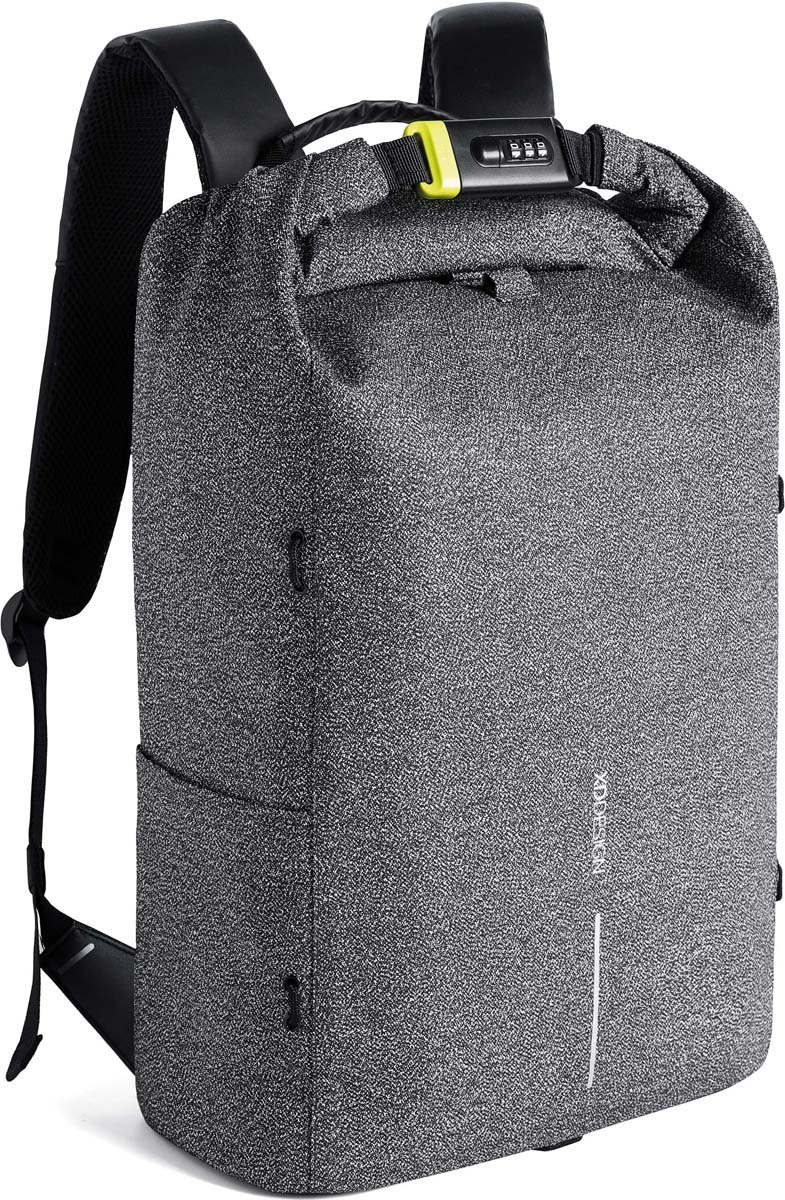 Рюкзак городской XD Design Bobby Urban, для ноутбука до 15,6, цвет: серый, 27 л рюкзак городской xd design bobby xl для ноутбука до 17 цвет серый 15 л