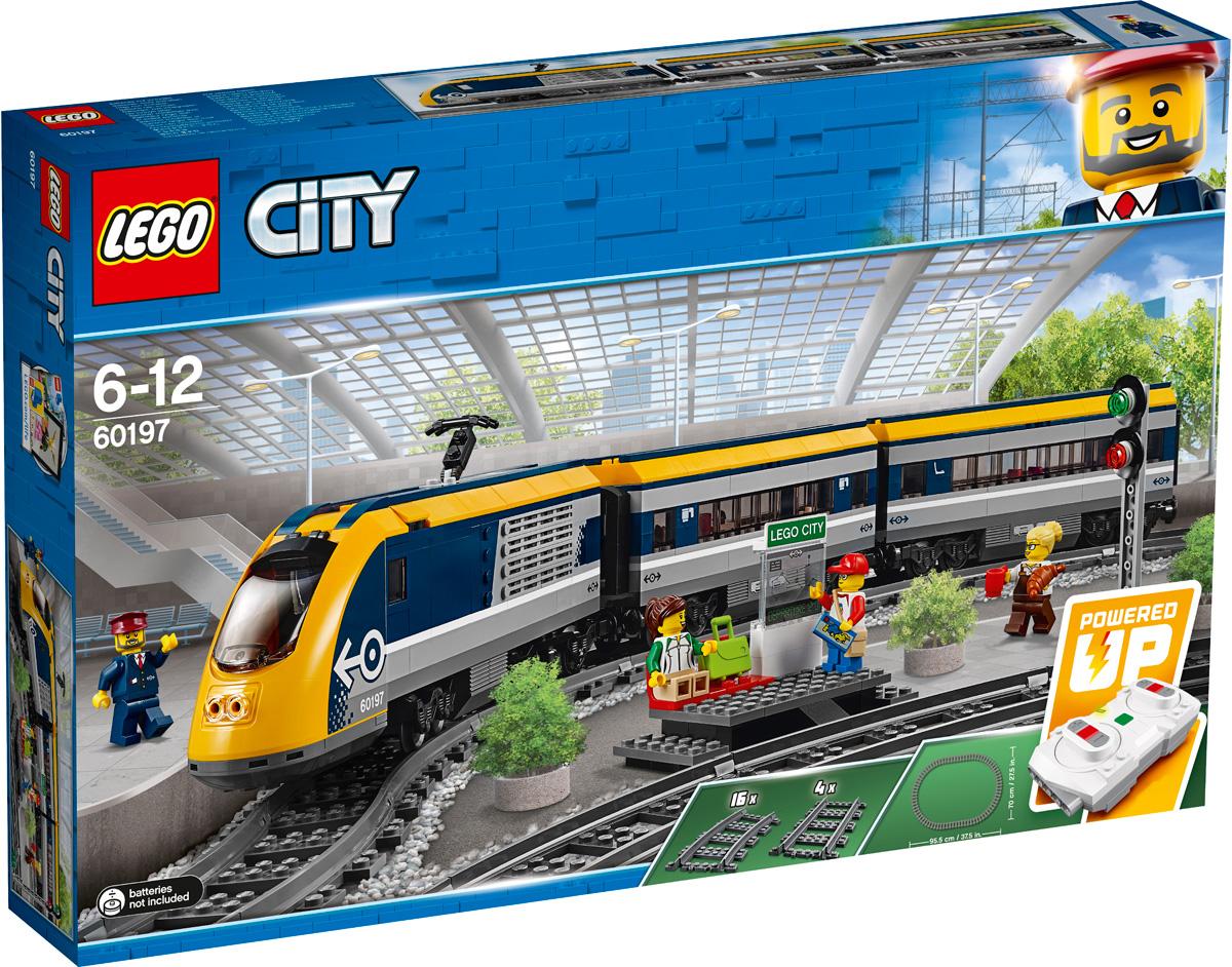 цена на LEGO City Trains 60197 Пассажирский поезд Конструктор
