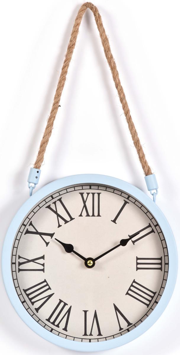 Часы настенные Innova, цвет: голубой, диаметр 22 см. W08309 часы настенные innova w09656 цвет белый диаметр 35 см