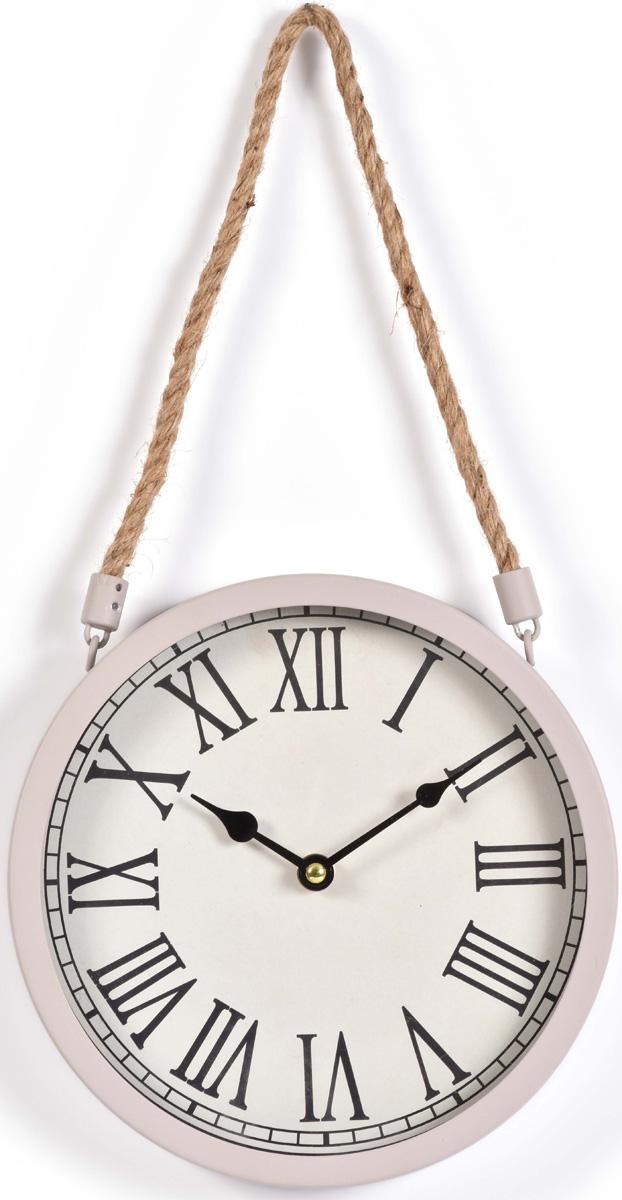 Часы настенные Innova, цвет: темно серый, диаметр 22 см. W08310 часы настенные innova w09656 цвет белый диаметр 35 см