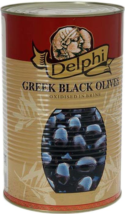 Delphi Маслины с косточкой в рассоле Atlas, 4,25 кг