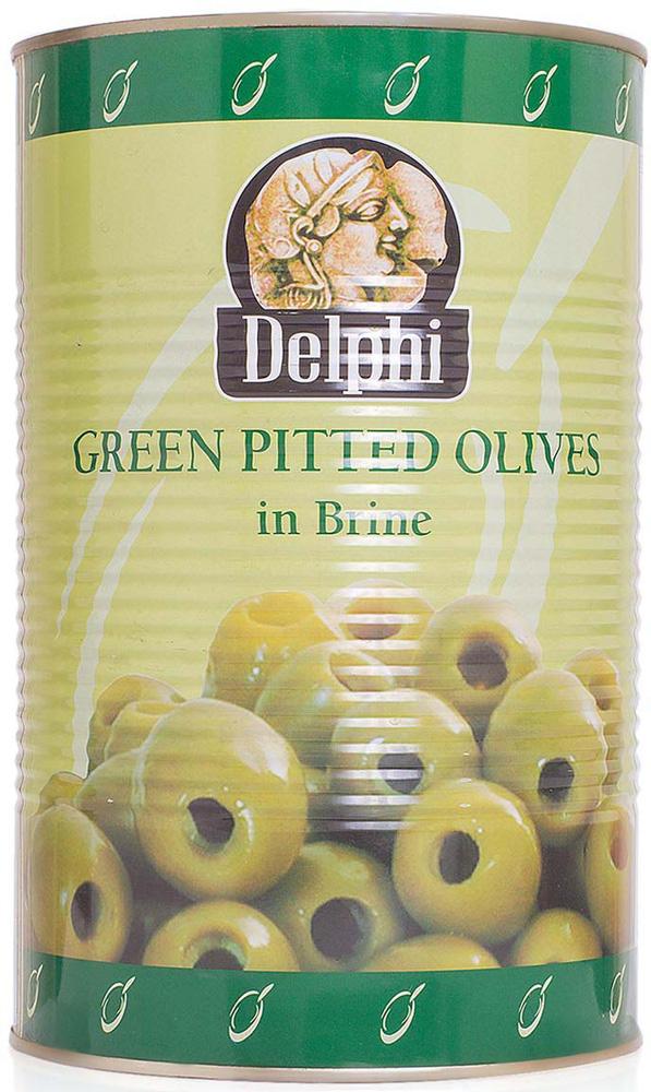 Delphi Оливки без косточек в рассоле Atlas, 4,25 кг