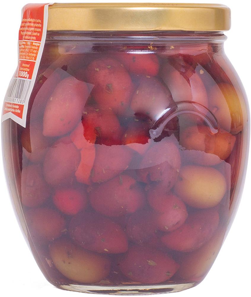 Delphi Оливки и маслины Каламата маринованные, 1 кг