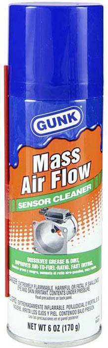 Очиститель датчика массового расхода воздуха Gunk, аэрозоль, 170 г цена и фото