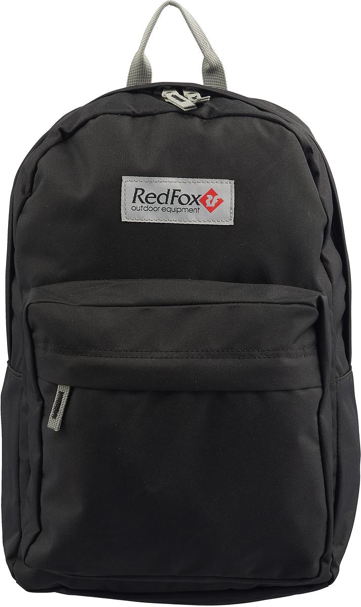 Рюкзак детский городской Red Fox Bookbag M1, цвет: черный, 25 л red fox рюкзак compact 17