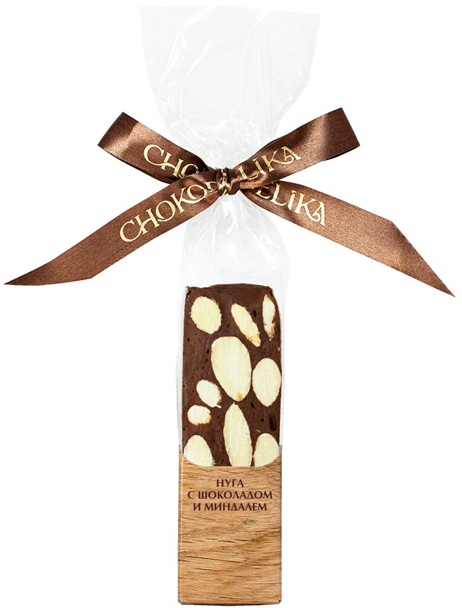 Нуга с шоколадом и миндалем Chokodelika, 50 г
