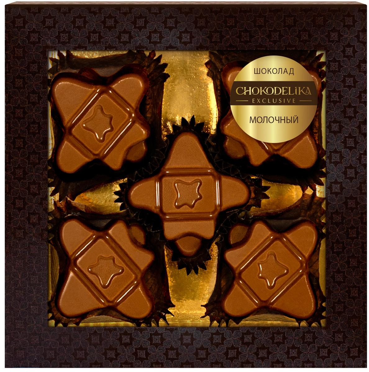 Шоколад вкусовой Молочный Chokodelika, 60 г цены онлайн