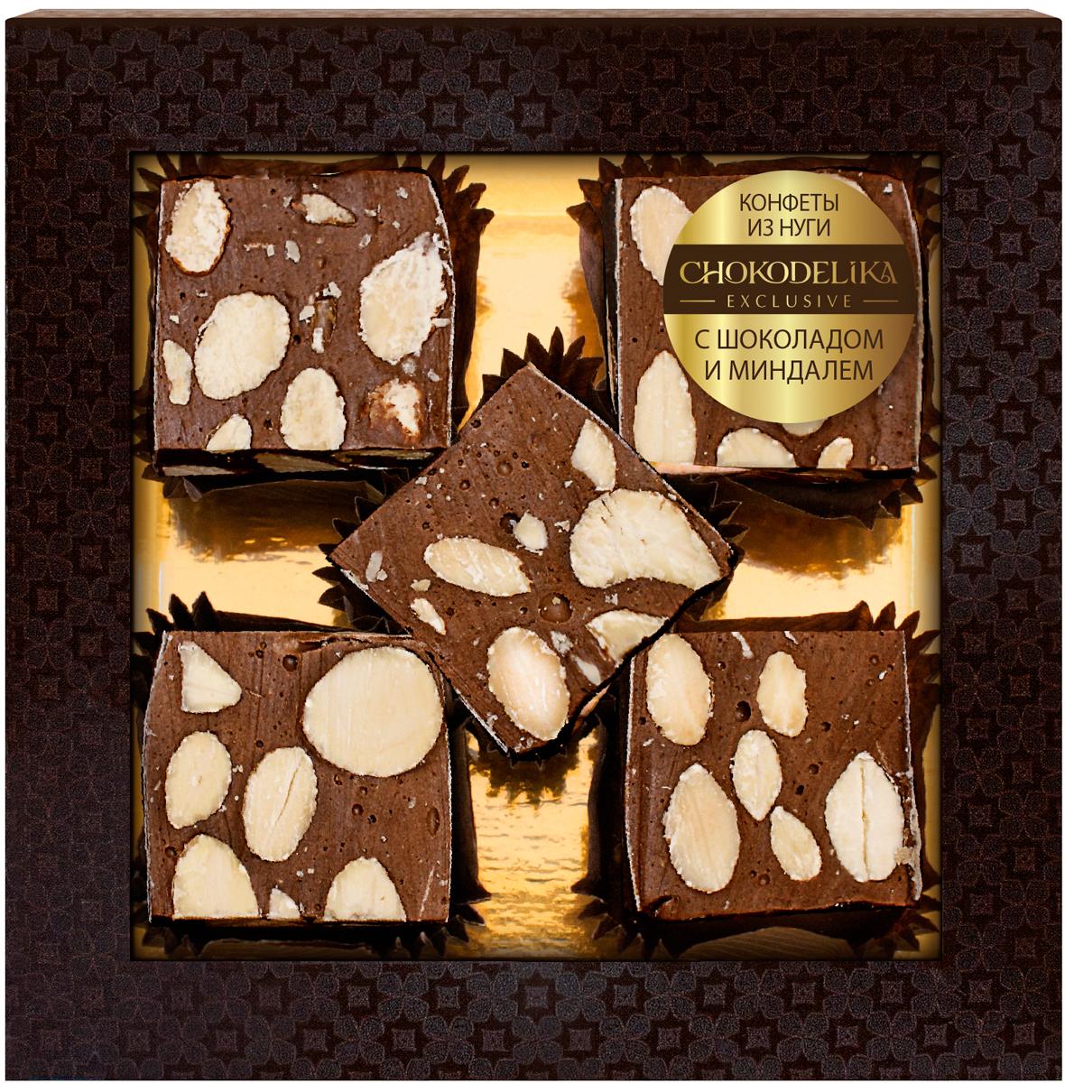 Нуга с шоколадом и миндалем Chokodelika, 80 г