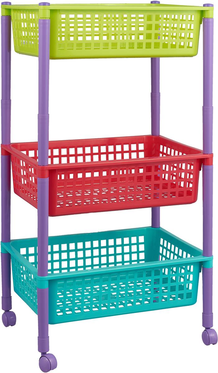 """Контейнер для игрушек """"Полимербыт"""", 44 см х 31 см х 70 см, цвет в ассортименте"""