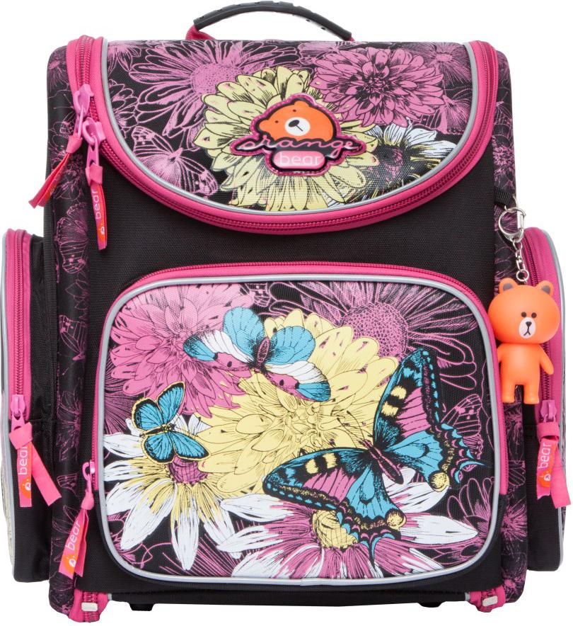 Orange Bear Рюкзак школьный Butterfly цвет черный