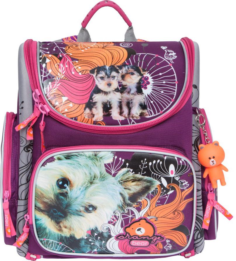 Orange Bear Рюкзак школьный Dogs цвет фиолетовый