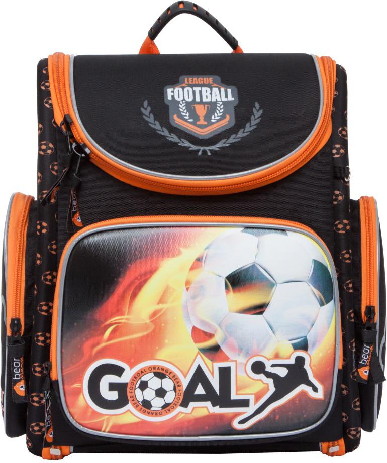 Orange Bear Рюкзак школьный Football цвет черный S-17/1