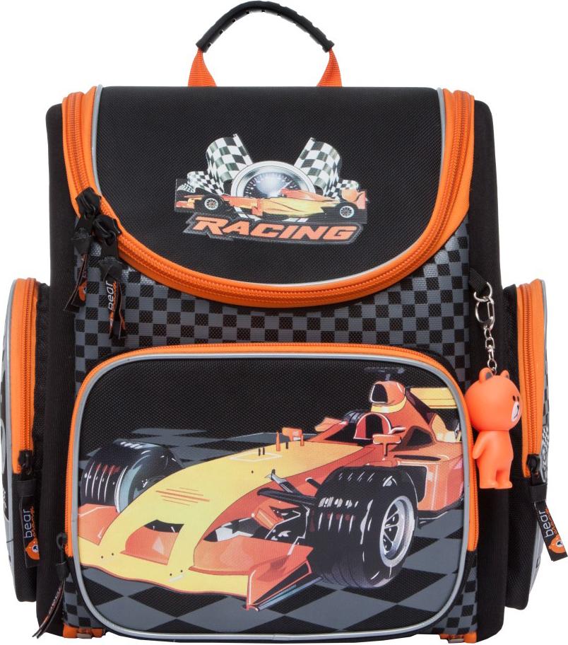Orange Bear Рюкзак школьный Sportcar цвет черный