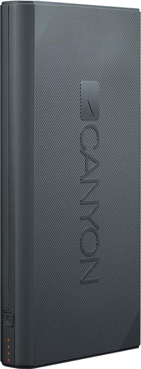 Canyon CNE-CPBF160DG, Dark Grey внешний аккумулятор (16000 мАч) аккумулятор