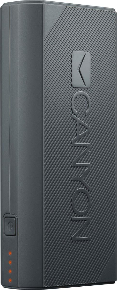 Фото - Canyon CNE-CPBF44DG, Dark Grey внешний аккумулятор (4400 мАч) аккумулятор
