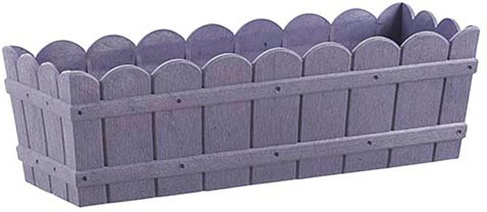 Ящик балконный Emsa Country, цвет: сиреневый, 50 x 17 x 15 см сиреневый цв 14