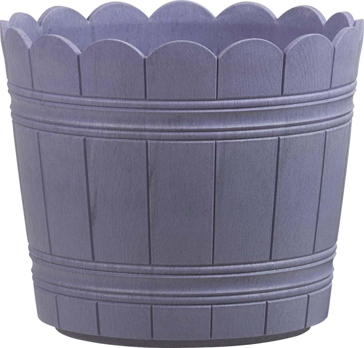 Кашпо Emsa Country, цвет: сиреневый, диаметр 24 см сиреневый цв 14